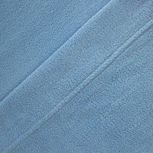 Microfleece Sheet Wedgewood Blue King