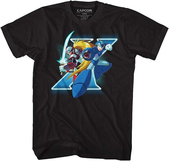 American Classics Mega Man X and Zero - Camiseta de Manga
