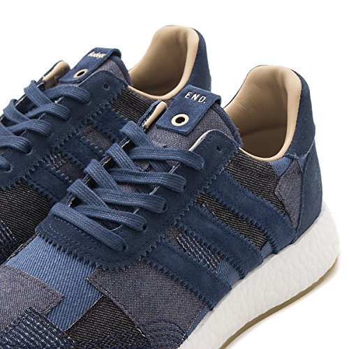 Adidas Hombres Iniki Runner X End X Bodega X Sneaker Exchange Tan / Navy By2104