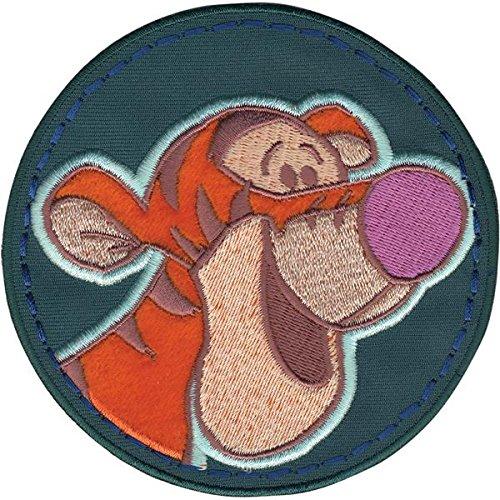 - Wrights Disney Winnie The Pooh Tigger Circle Iron-On Applique
