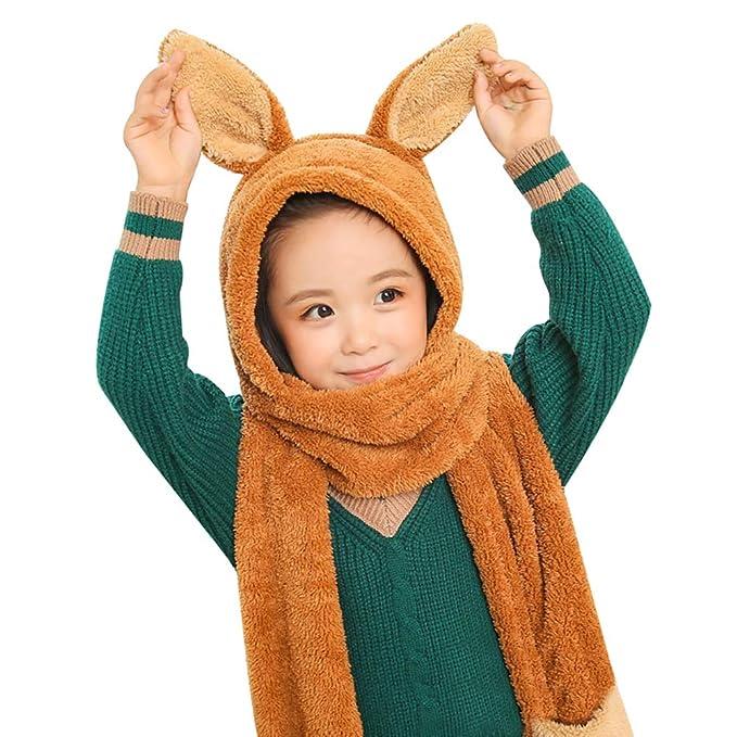 405d4d320875 Amazon.com  Baby Winter Cap Beanie Set Boys Girls Cute Cartoon Soft ...