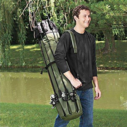 Lumsing Fishing Rod Case Organizer