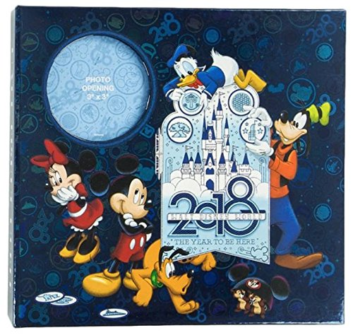 Disney Album - Walt Disney World 2018 The Year to Be Here Medium Photo Album Holds 200 Photos