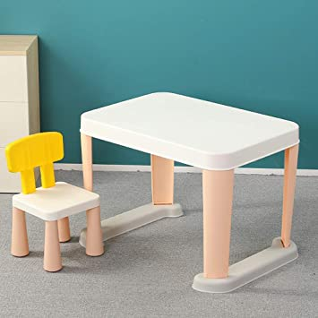 Juego de mesa y silla de estudio para niños 2-6 años Escritorio de ...