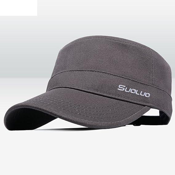 Sombreros de moda coreano Gorras planas Gorra de béisbol Ocio al aire libre  tapa Visera-C  Amazon.es  Ropa y accesorios 167c245ccca