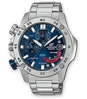 Casio Reloj Cronógrafo para Hombre de Cuarzo con Correa en Acero Inoxidable EFR-558D-