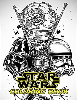 Star Wars Coloring Book Color All Characters In Star Wars With 50