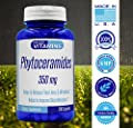 Phytoceramides 350mg - 200 Capsules - Best Value Phytoceramide Supplement on Amazon - 700mg per 2 Capsules - Skin Hydration, Repair, and Rejuvination. All Natural Gluten Free Plant derived*