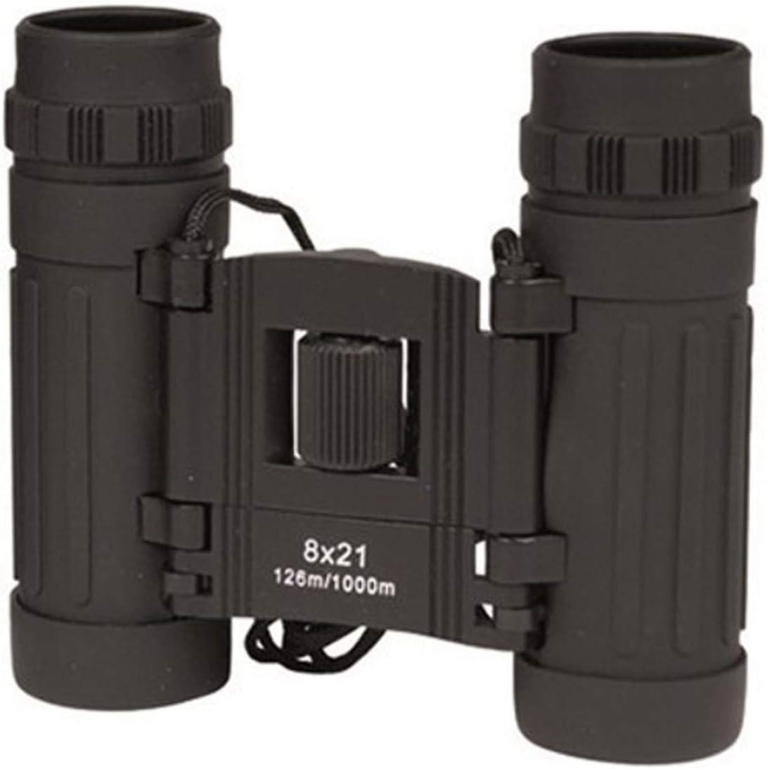Mil-Tec Foldable Binocular 8×21 Black