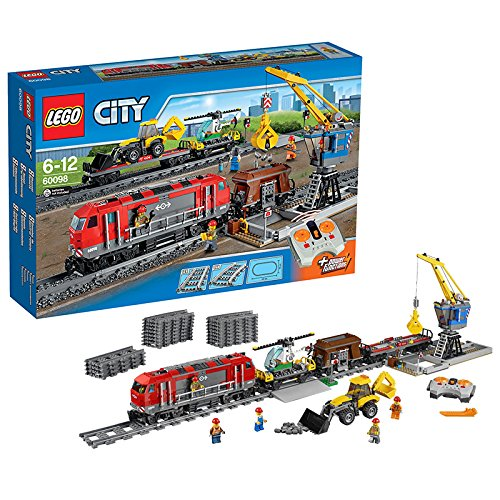 lego city 60098 jeu de construction le train de marchandises la caverne du jouet. Black Bedroom Furniture Sets. Home Design Ideas