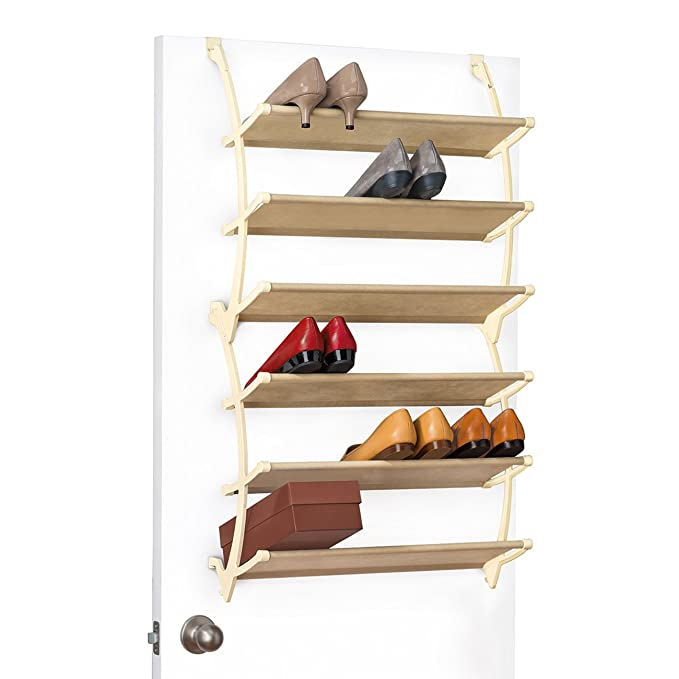 Amazon.com: Lynk Vela over Puerta zapatero (estantes: Home ...