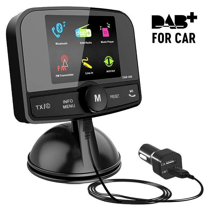 7 opinioni per Excelvan 2.4 Pollici Schermo Colorato In-Car DAB/DAB + Adattatore Radio
