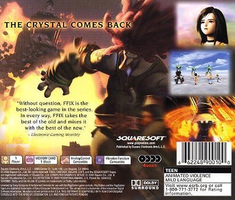 Amazon com: Final Fantasy IX: Video Games