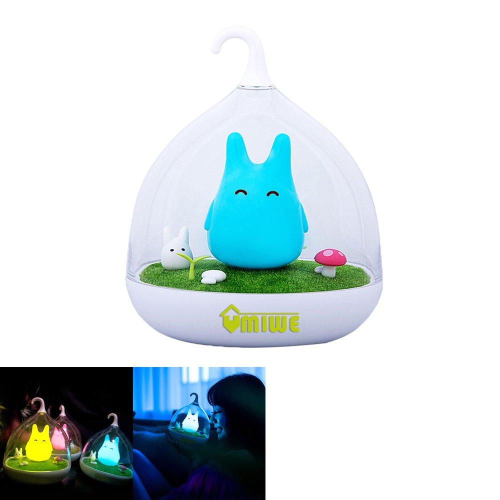 niceEshop(TM) Portable Creative Touch Sensor USB LED Baby Night Light Lamp(Blue)