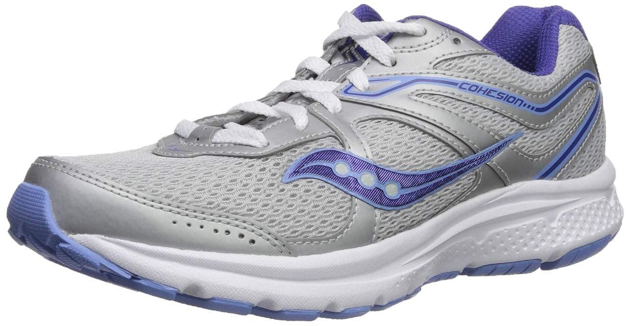高級品市場 Saucony Grid Women's Grid Cohesion 11 12 Ankle-High Mesh Running Shoe B(M) B077Y3W2YW グレー/パープル 12 B(M) US 12 B(M) US|グレー/パープル, メイプルウェアショップ:dbeec734 --- a0267596.xsph.ru