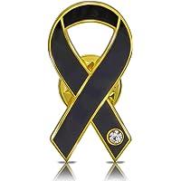 Awareness Ribbon Lapel Pin Flat