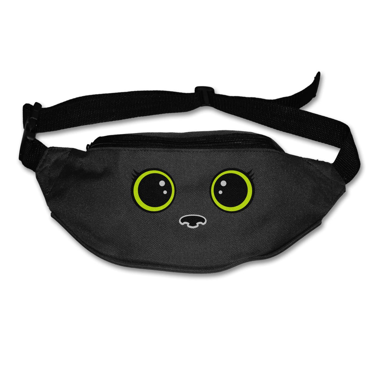 Cute Eyelash Sport Waist Pack Fanny Pack Adjustable For Hike