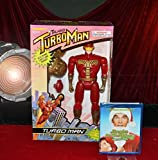 Turbo Man Toy Best Deals - TURBO MAN Toy MINT IN BOX + ARNOLD SCHWARZENEGGER, DVD - Mint In Box