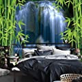XLi-You 3D Pipeline Third Tv Background Wall Painting Living Room Bedroom Bamboo Waterfall Wallpaper