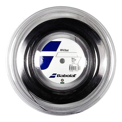 af174e60 Babolat RPM Blast Tennis String - Black - 1.35mm/15L - 200m (660ft) Reel,  Racquet String - Amazon Canada