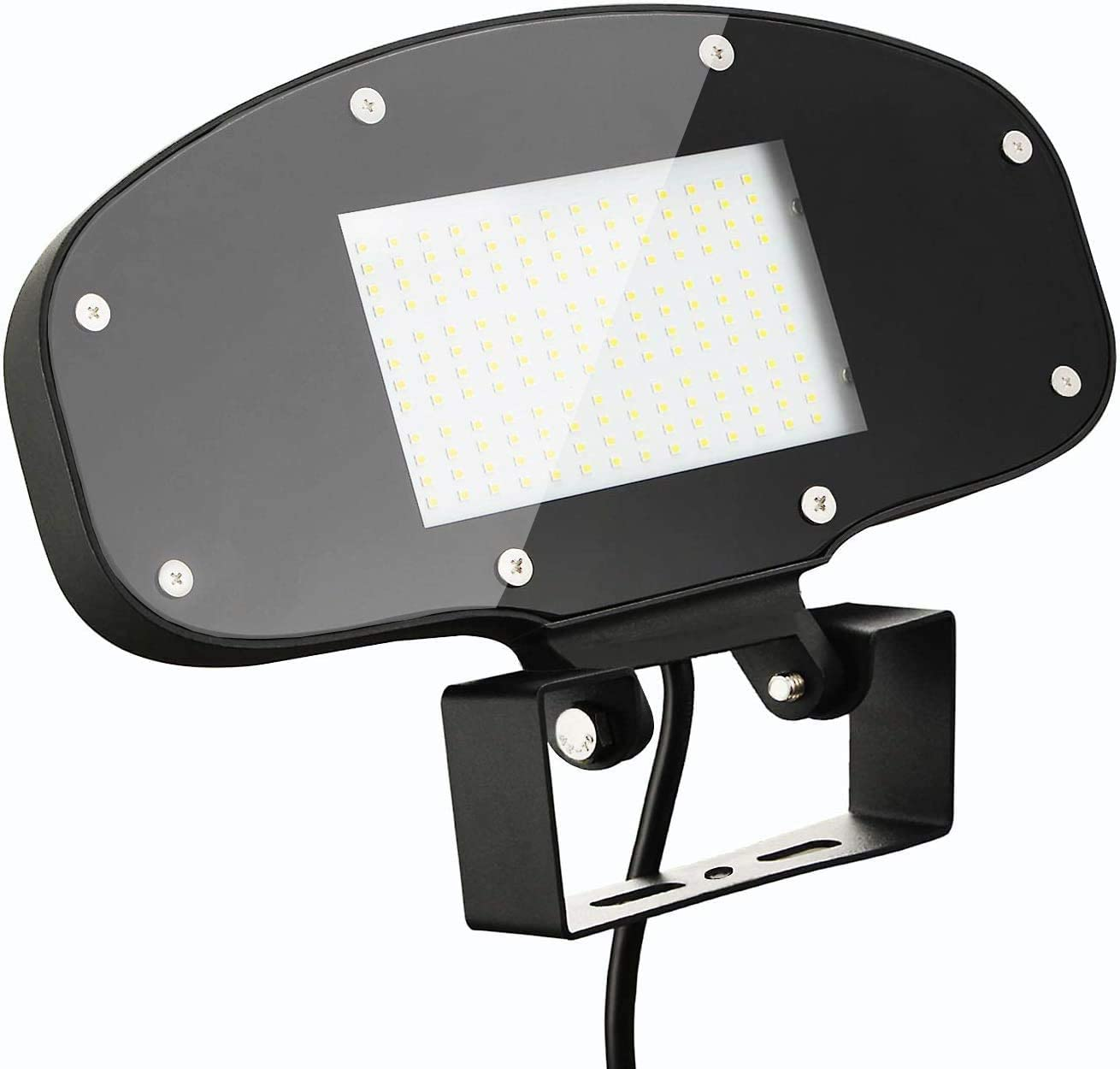 80W LED Flood Light 9000LM 5000K 180 Adjustable led flood lights knuckle mount IP65