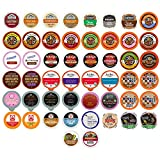 hot chocolate kcups variety - Coffee, Tea, Cider, Cappuccino and Hot Chocolate Single Serve Cups For Keurig K Cup Brewers Variety Pack Sampler, 50 Count