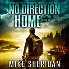 On the Edge: No Direction Home, Book 3 Audiobook by Mike Sheridan Narrated by Kevin Pierce