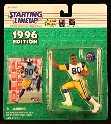Starting Line Up 1996 Isaac Bruce St. Louis Rams Action Figure by Starting Line Up