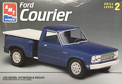 Amazon com: AMT Ford Courier Plastic Model Truck Kit: Toys