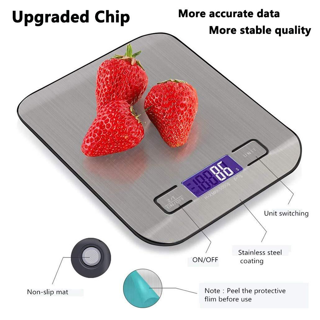 TW1000 Báscula Smart Digital para Cocina con Pantalla LCD Balanza ...