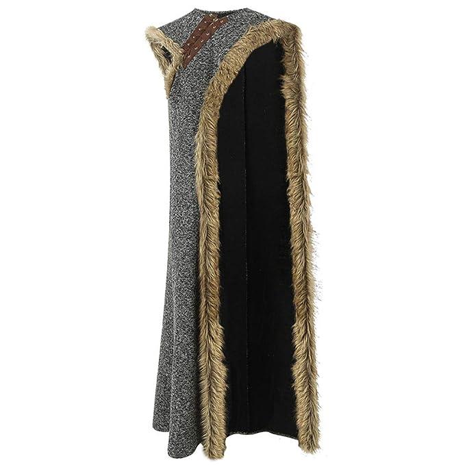 Amazon Com Coskey Arya Stark Costume Dress With Cloak For