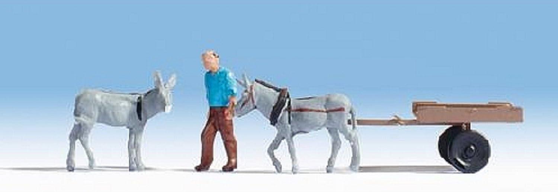 16664 Chariot D/Âne Noch Mod/élisme Ferroviaire Accessoires Animal 1 Figurine