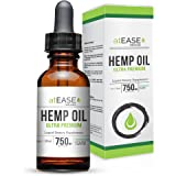 atEase Full Spectrum Hemp Oil Tincture 750mg - 1oz Peppermint Flavor