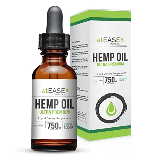 Product thumbnail for atEASE Full Spectrum Hemp Oil Tincture