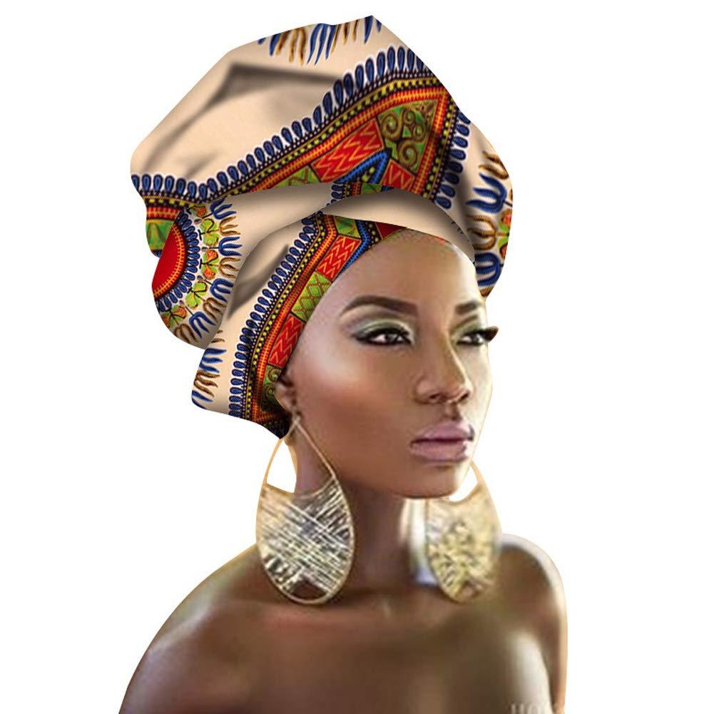African Head Wraps 45x36 African Wax Print Head Scarf Tie Women