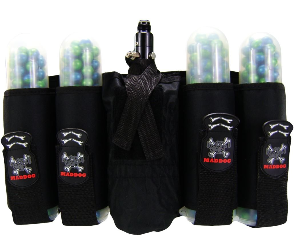 MAddog 4+1 Vertical Paintball Harness by Maddog