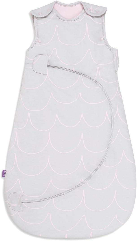 460 g White//Grey Little Star Snuz Pouch Sleeping Bag 0-6 Months,/2.5 Tog