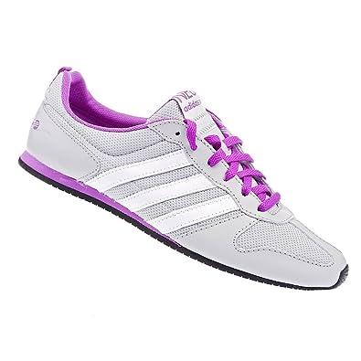 Neo Adidas Running Gr41 Damen Turnschuhe grau Sneaker weiß 5AL3q4jcRS