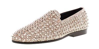 rose gold dress shoes mens
