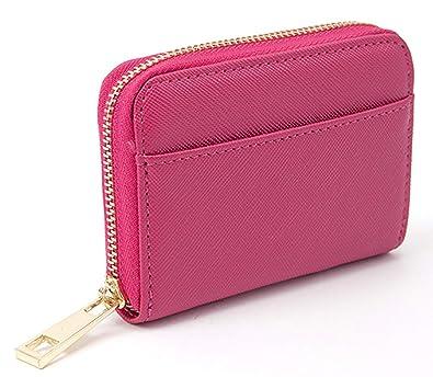 16db0da0e856 ミニ財布 ミニウォレット 小銭入れ コインケース 小さい財布 メンズ レディース ラウンドファスナー コンパクト [