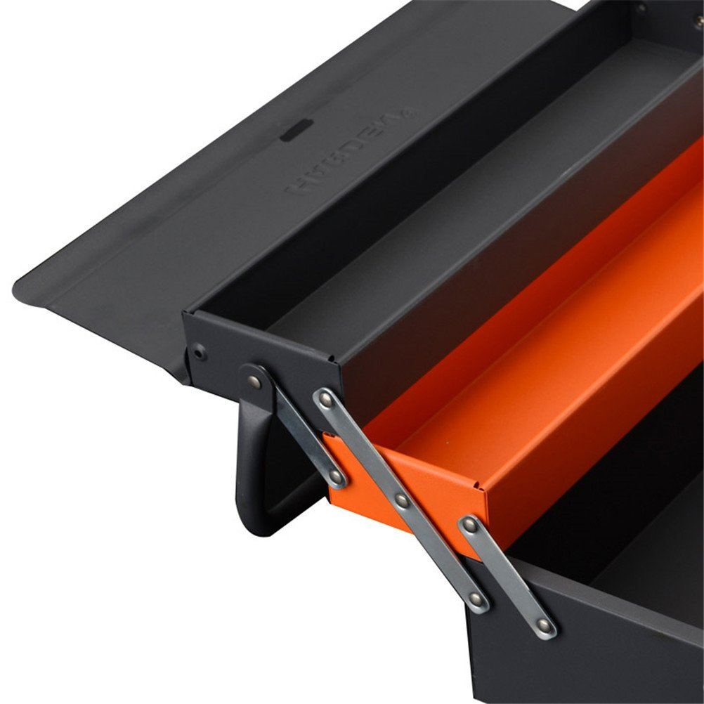 Lightdot Hardware Portable Cantilever Toolbox, 5 Drawers Metal Tools Box by HAR-DEN (Image #5)