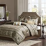 Madison Park Bellagio Comforter Set, Brown/Gold