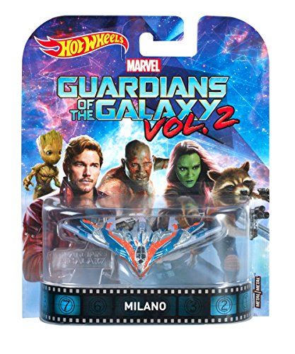 Hot Wheels Guardians of the Galaxy Milano Vehicle ()