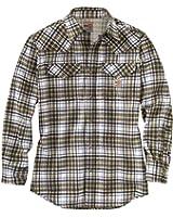 Carhartt Men's 102015 Flame-Resistant Snap Front Plaid Shirt