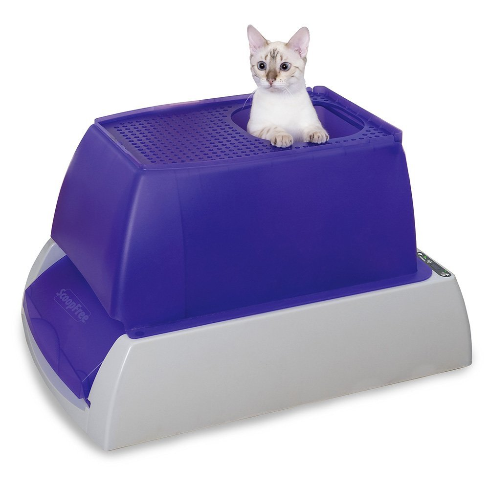 PetSafe ScoopFree Ultra Self-Cleaning Cat Litter Box, Covered, Automatic with Disposable Tray, 2 Color Options