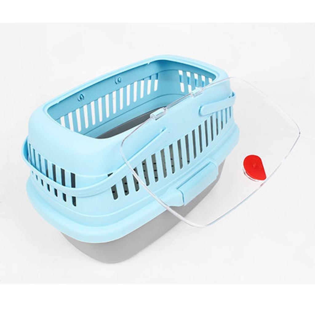 Promoción por tiempo tiempo tiempo limitado xueyanPerro portaacute;til de aire mascotas viajes caja suministra enviacute;o aviones de caja fuera de la jaula del perro jaula jaula gato e7feb9