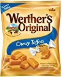 Werther's Original Chewy Toffees Bag, 12 Bags x 135 g