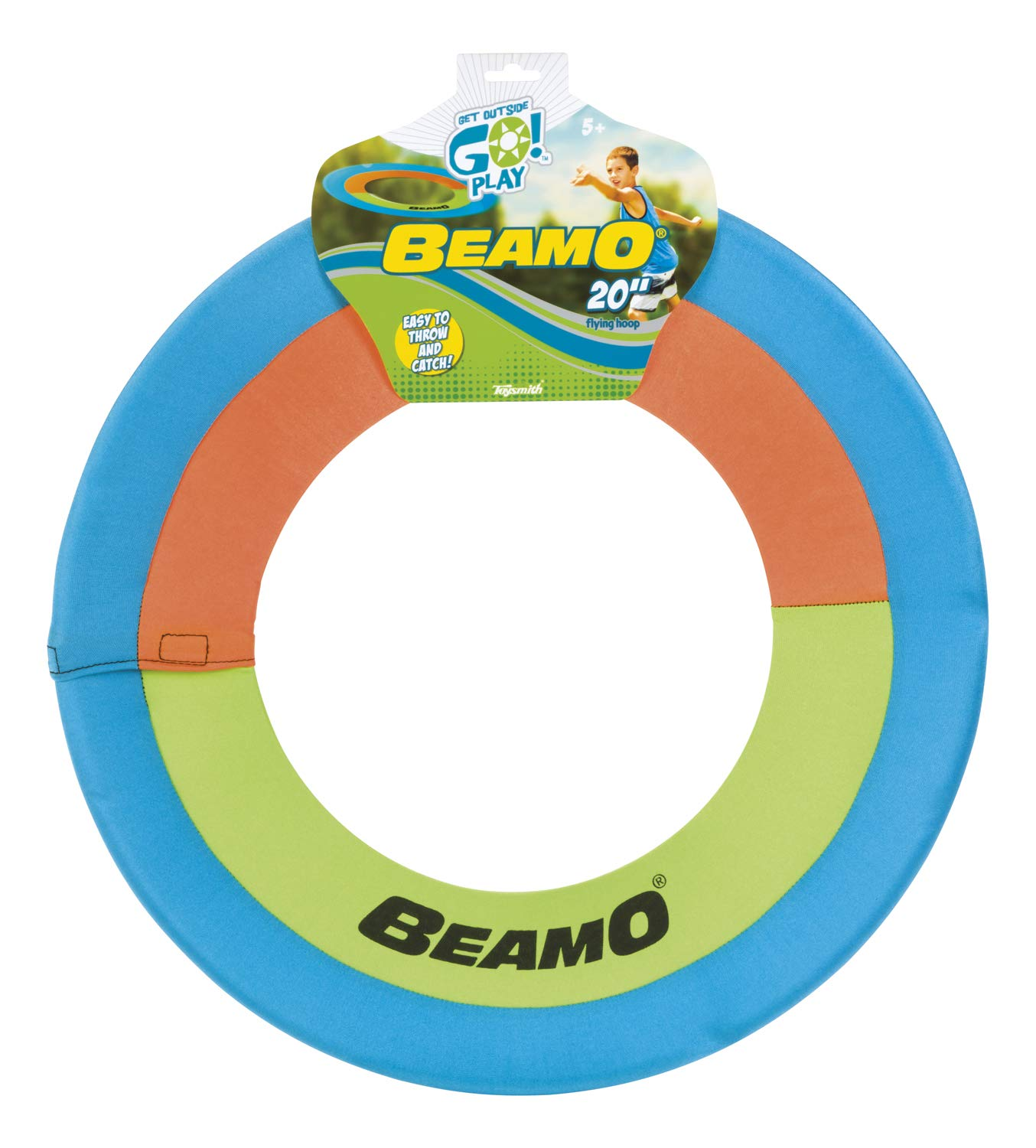 Toysmith Get Outside GO! Beamo Flying Hoop (20-Inch, Assorted Colors)
