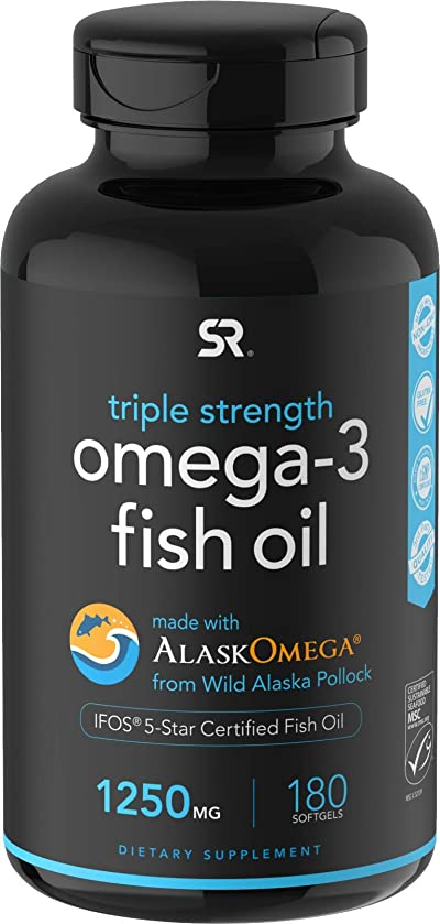 Omega-3 Wild Alaskan Fish Oil