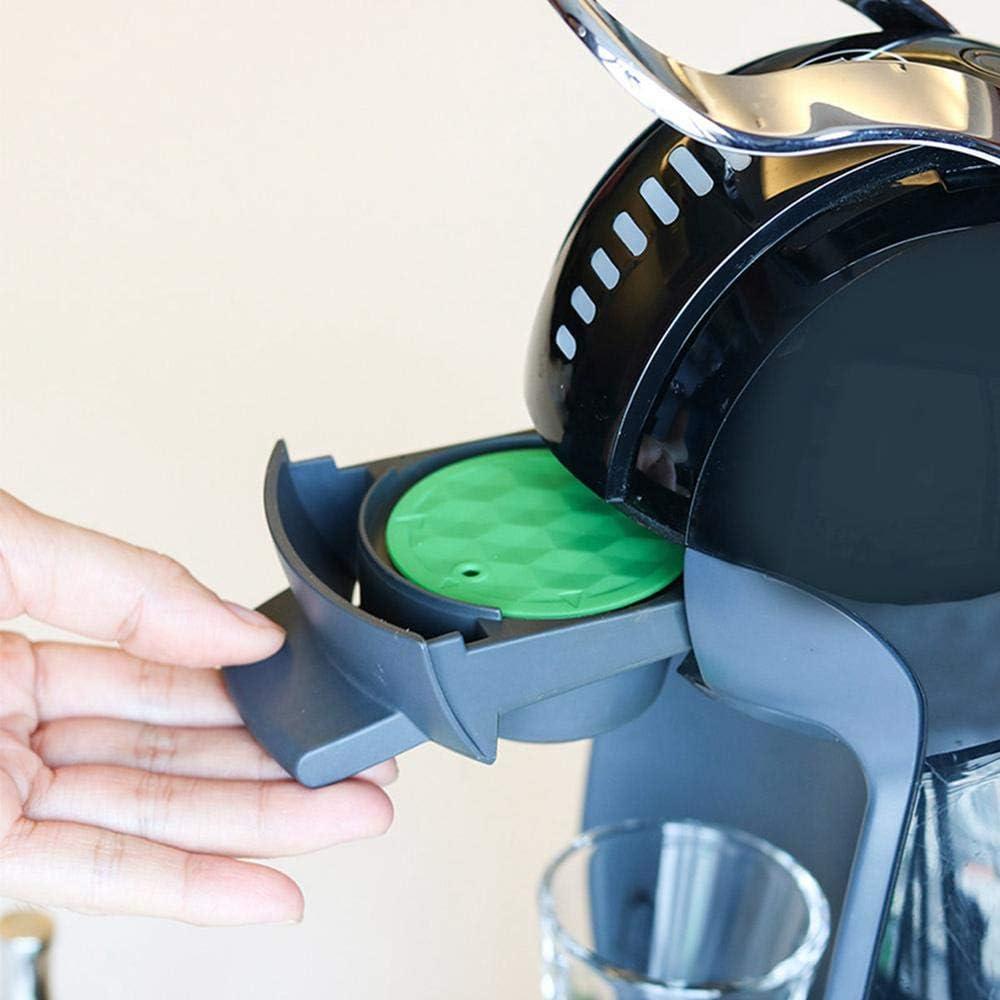 con 1 Cuchara De Caf/é Sin BPA FOONEE C/ápsulas De Caf/é Reutilizables De Acero Inoxidable Juego De C/ápsulas De Filtro De Caf/é Recargables M/áquinas ILLY 1 Brocha Y 1 Pis/ón De Caf/é